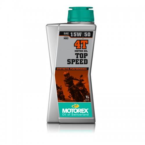 MOTOREX - TOP SPEED 4T 15W/50 1L MOTOR OIL
