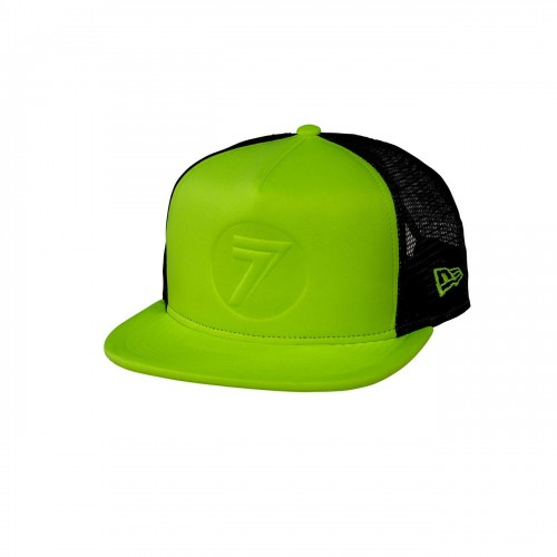 SEVEN MX - HAT - STAMP IT HAT FLO YELLOW OSFM