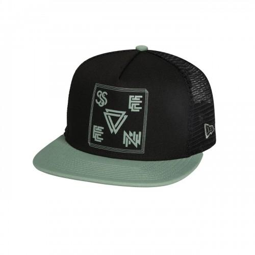 SEVEN MX - HAT - VECTOR HAT BLACK PASTE OSFM