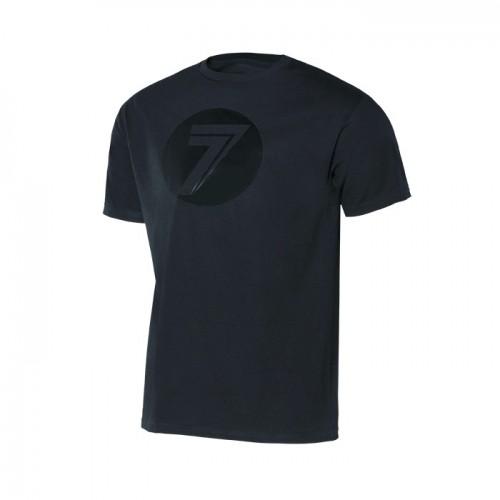 SEVEN MX - SHIRT - DOT TEE BLACK