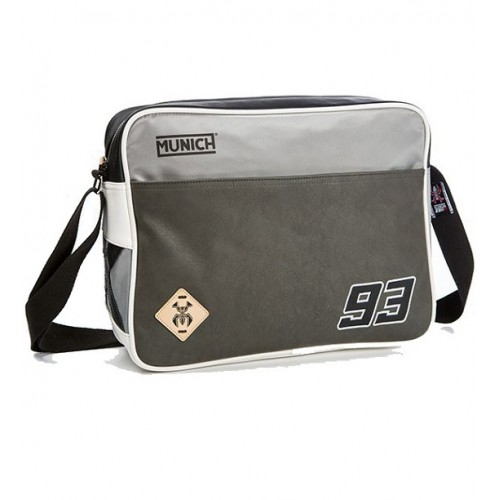 MUNICH MM93 MESSENGER BAG 604 GRIS