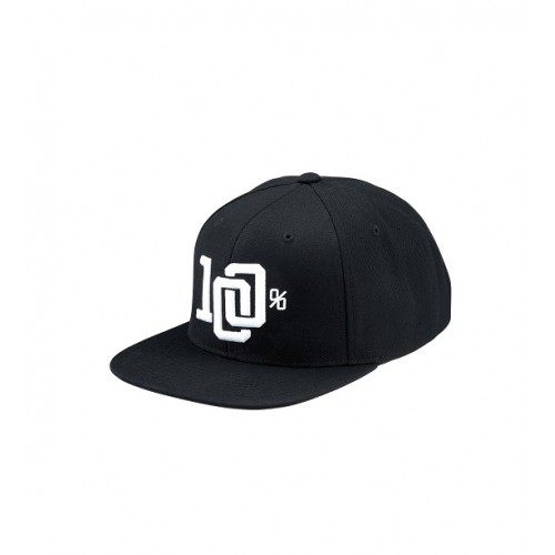 100% - HAT - COLLEGE BLACK