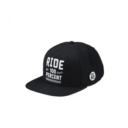 100% - HAT - RIDE BLACK