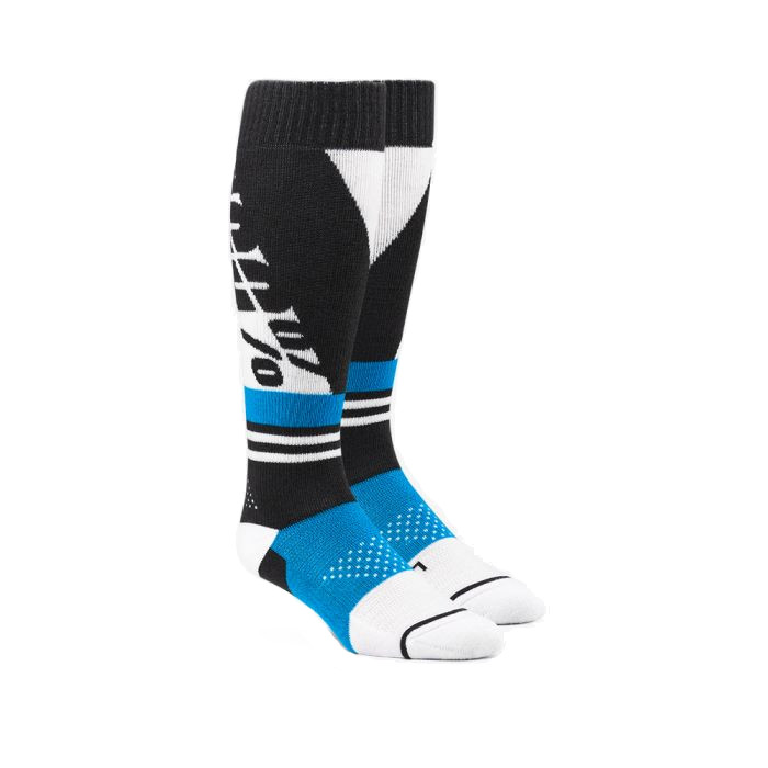 100% - SOCKS - TORQUE COMFORT MOTO SOCK - STEEL GREY