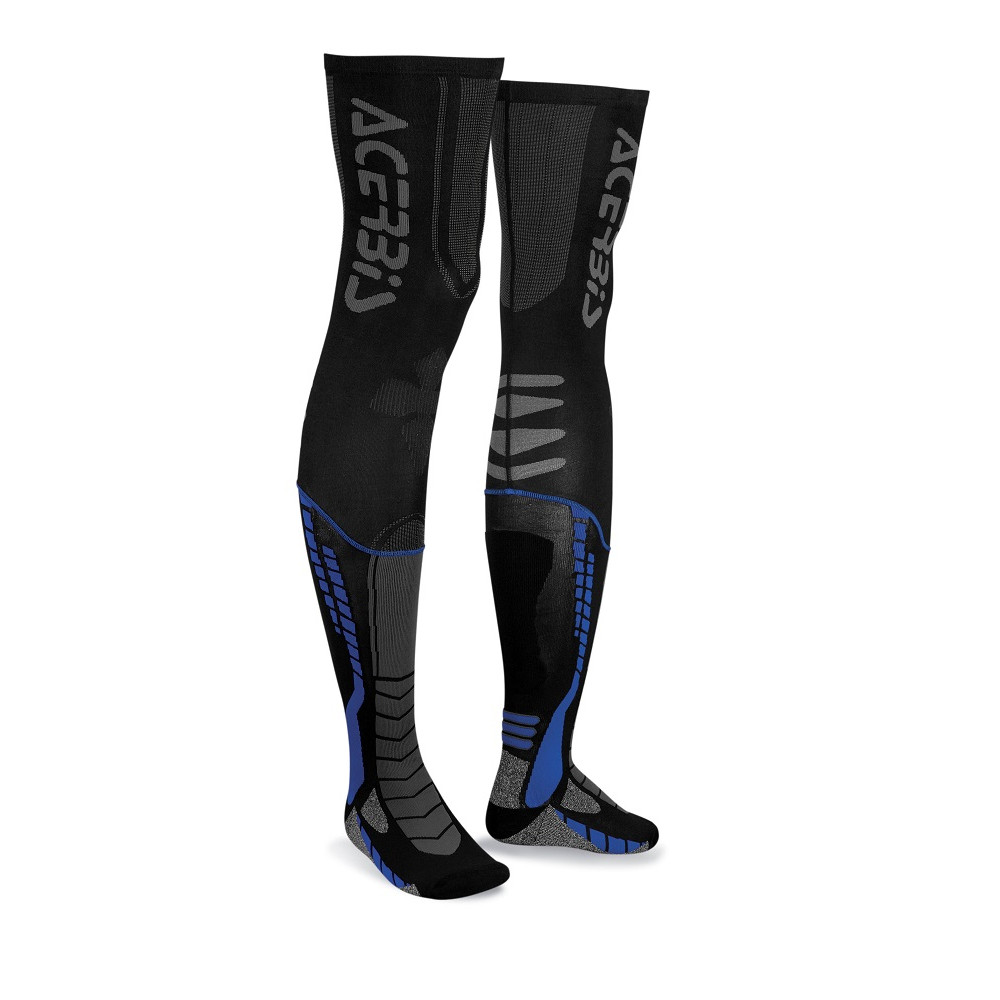 ACERBIS - MX SOCKS X-LEG  - BLACK BLUE