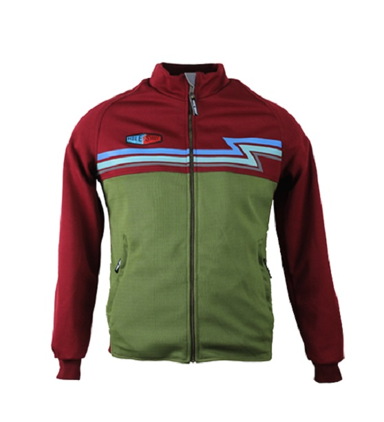 HOLESHOT - THE JAUHAR OLIVE BURGUNDY REFLECTOR