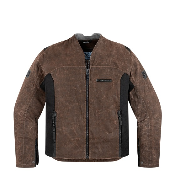 ICON - 1000 - OILDALE JACKET BROWN