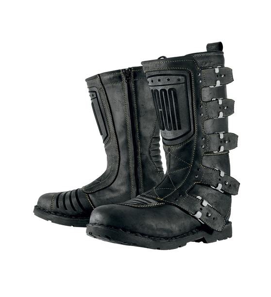 ICON - ELSINORE BOOT JOHNNY BLACK